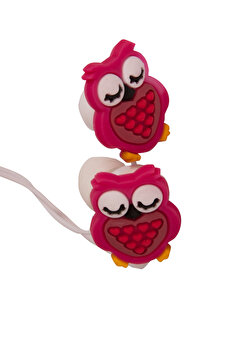 BIGGSOUND Red Owl Headphones