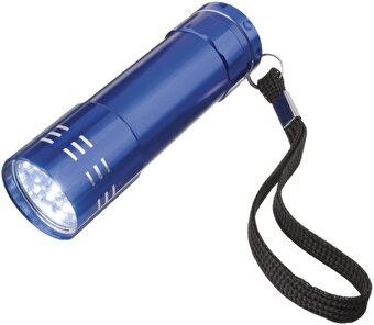 Nektar 10410500 9 LED Metal Flashlight