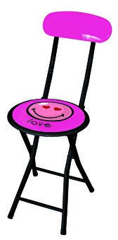 INCIDENCE Pink Chair