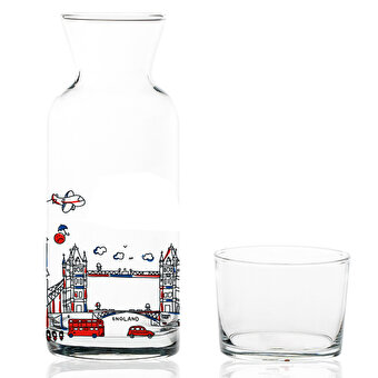 TK Collection London Glass Jug