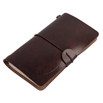 TK Collection PU Leather Covered Notebook