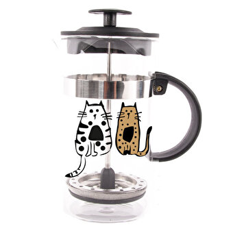 Resim    Biggdesign Cats in İstanbul French Press 1000 Ml by Zeynep Pak