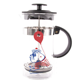 Resim     Biggdesign Mr. Allright Man French Press 1000 Ml