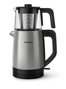 Resim   Philips HD7303/00 Viva Collection Çay Makinesi - Cam Demlik