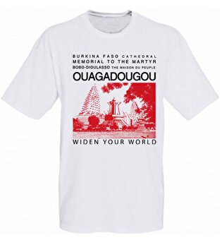 Resim   TK Collection Ouagadougou T-Shirt