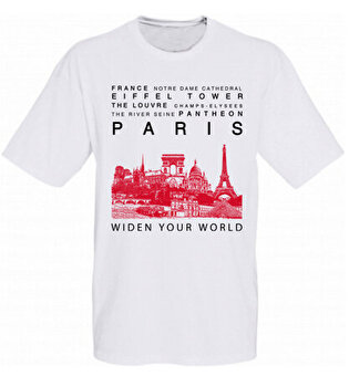 Resim   TK Collection Paris T-Shirt