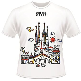 Resim   TK Collection Spain T-Shirt