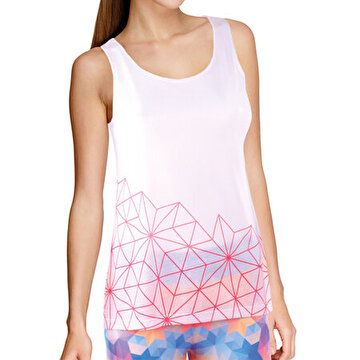 Picture of BiggYoga Aura Women Tank Top - White