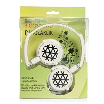 Picture of BiggSound White Headphones