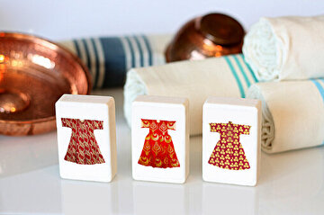 Picture of  TK Collection Caftan Soap Set 3 Pieces