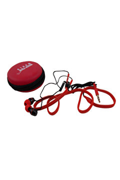 Picture of  TK Collection Red Zipper Earphone