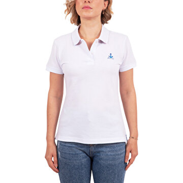 Picture of Anemoss Aquarium Women's Polo Collar T-Shirt