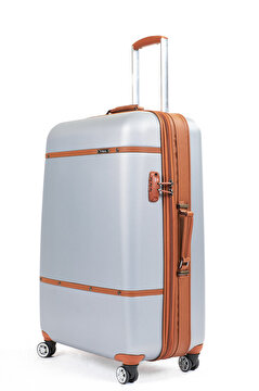 Picture of  Baggaj V209 ABS Middle Size Suitcase - Gray