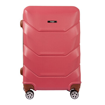 Picture of  Baggaj V318 ABS Medium Size Suitcase - Pink