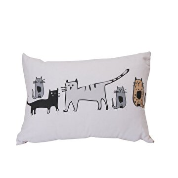 Picture of BiggDesign Cats in İstanbul Rectangle Pillow
