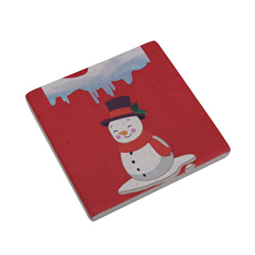 Picture of  BiggDesign  Snowman Stone coasters
