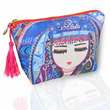 "Picture of BiggDesign ""Blue Water"" Make - Up Bag"
