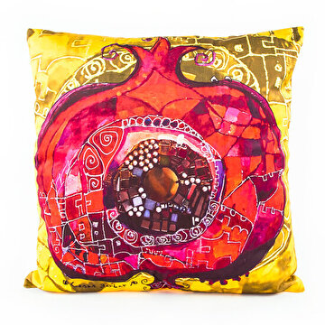 "Picture of BiggDesign ""Pomegranade"" patterned Pillow"