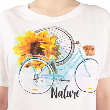 Picture of  Biggdesign Nature Women's T-shirt by Aysu Bekar- Small