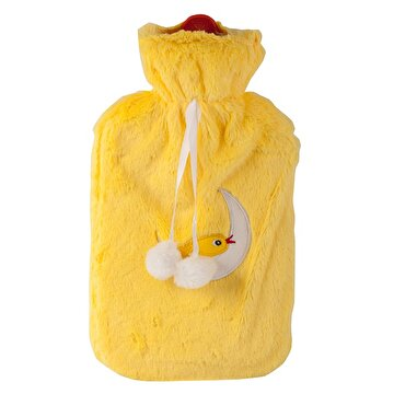 Picture of Biggdesign Owl and City Shag Cover Hot Water Bottle