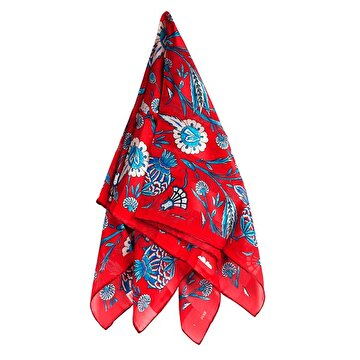 Picture of BiggDesign Pomegranate Burkina Silk Scarf