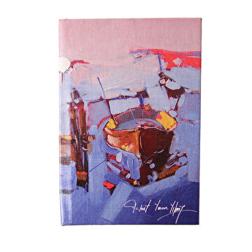Picture of BiggDesign Rowing-Boat Notebook 9x14 cm