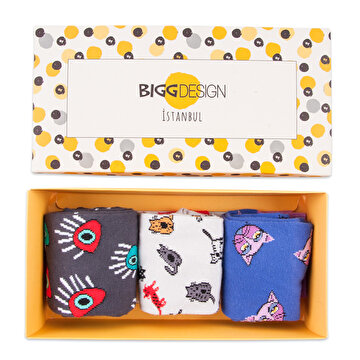 Picture of  Biggdesign Woman Socks Set  3 Pcs
