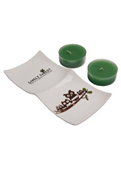 Picture of   Bigghome Tealight Candle Set – Green