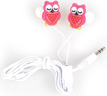 Picture of BiggSound Red Owl Earphones
