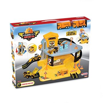 Picture of  Dede Building Site Construction Garage Set