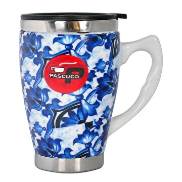 Picture of Andoutdoor AND333 Inner Steel Patterned Ceramic Mug