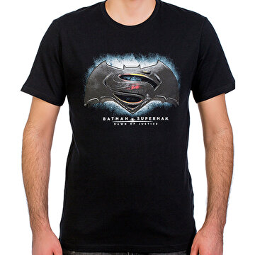 Picture of  Batman v Superman Siyah Erkek T-Shirt