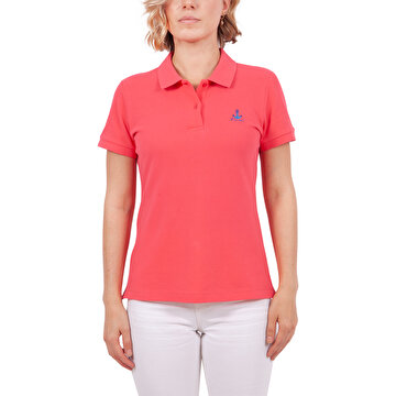 Picture of     Biggdesign Anemoss Gemici Martı Kadın Polo Yaka T-Shirt