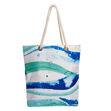 Изображение Biggdesign AnemosS Wave Patterned Beach Bag