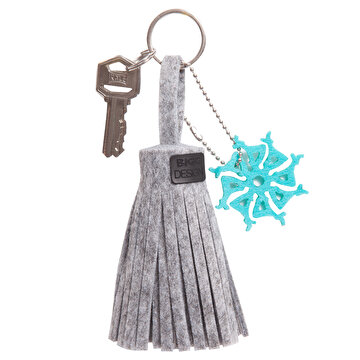 Picture of BiggDesign BC 3000 Deer Felt Tassel Keychain