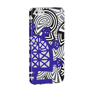 Изображение BiggDesign B.C. 3000 Sun Disk Blue iPhone 5 / 5S Cover