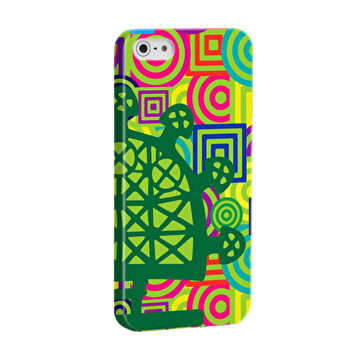 Изображение BiggDesign B.C. 3000 Sun Disk Green iPhone 5 / 5S Cover