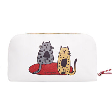 Изображение Biggdesign Cats Faux Leather Makeup Bag