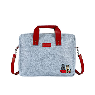 Изображение Biggdesign Cats Felt Notebook Bag