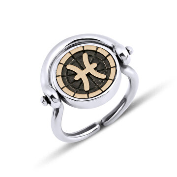 Picture of BiggDesign Horoscope Ring, Pisces