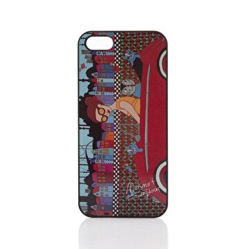 Изображение BiggDesign iPhone 5 Black Cover The Girl with Car