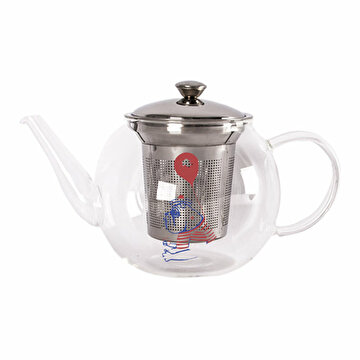 Picture of  Biggdesign Mr. Allright Man Strainer Teapot 600ML