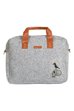 Picture of  Biggdesign Mr. Allrightman Felt Notebook Bag