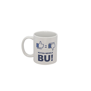Изображение  Biggmug Like or Not Like Ceramic Mug Cup