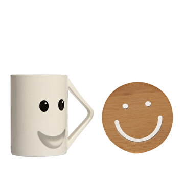 Picture of Biggmug Smiley Gülen Surat Kupa Seti