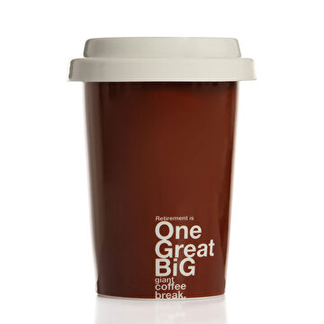 Picture of  Biggmug Take Away Mug - Kahverengi