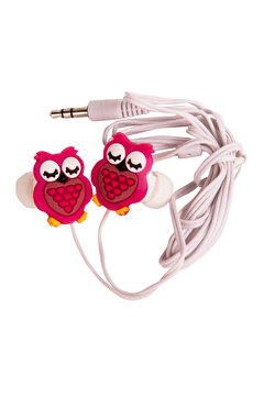 Picture of BIGGSOUND Red Owl Headphones