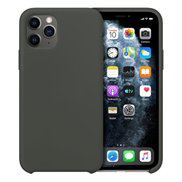 Picture of Buff  iPhone 11 Pro Rubber Fit Kılıf Dark Olive