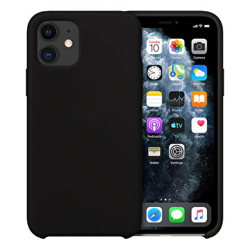 Picture of Buff  iPhone 11 Rubber Fit Kılıf Black