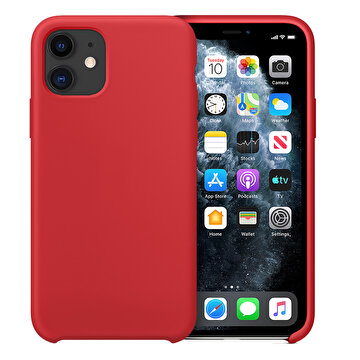 Picture of Buff  iPhone 11 Rubber Fit Kılıf Red